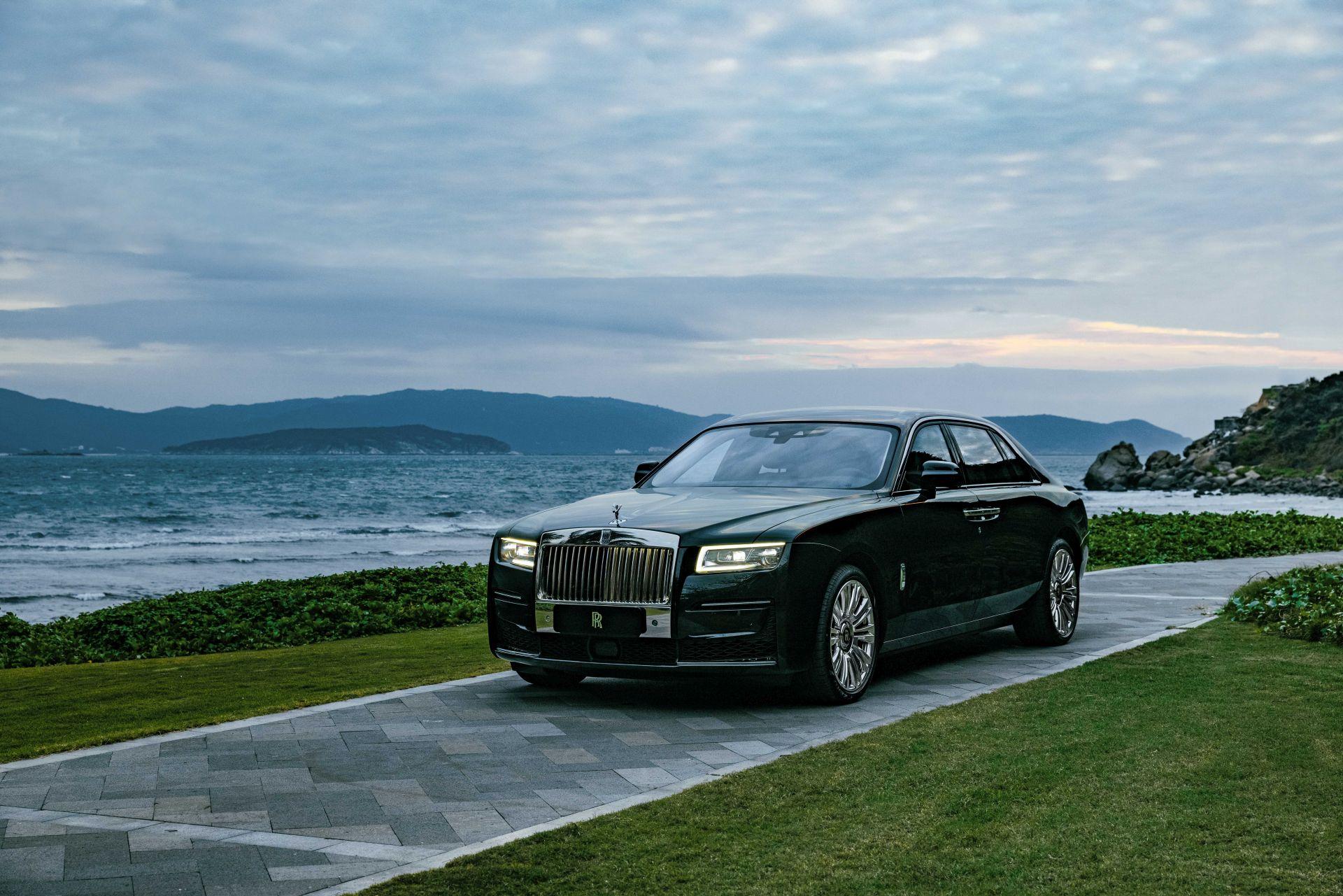 Rolls Royce Ghost china 2