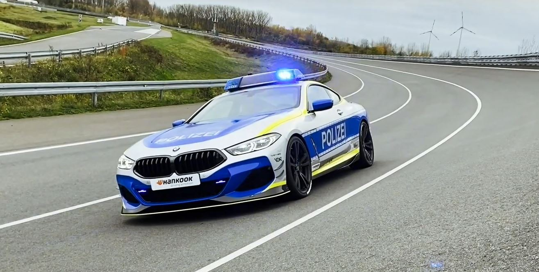 ac schnitzer m850i police car