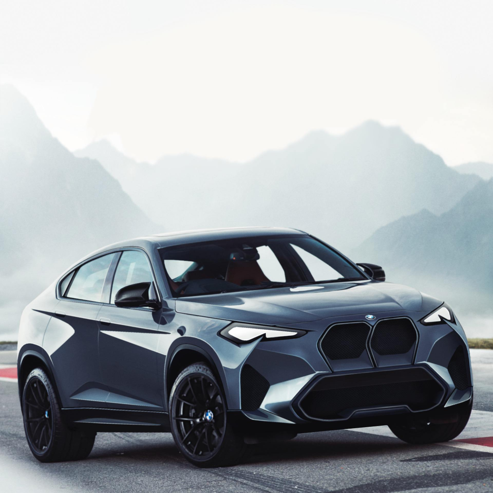 bmw m vision concept crossover 00