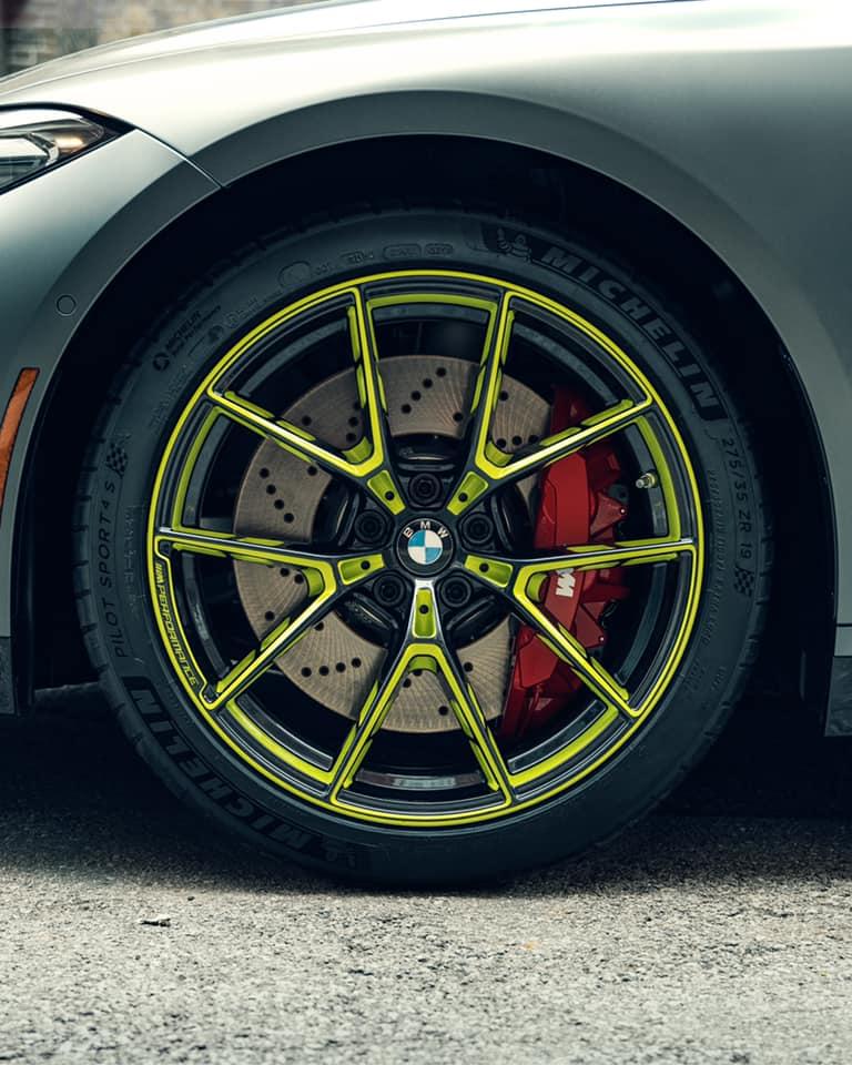 bmw m wheels green