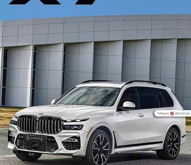 bmw x7 facelift render 640x553