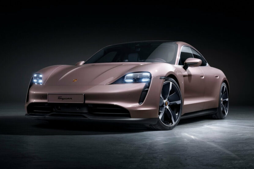2021 Porsche Taycan base model 830x553