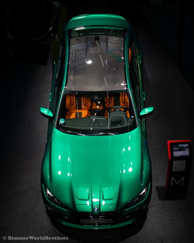 The New 2021 Bmw M3 In Isle Of Man Green Displayed At Bmw Welt In Munich The Automobile Blog