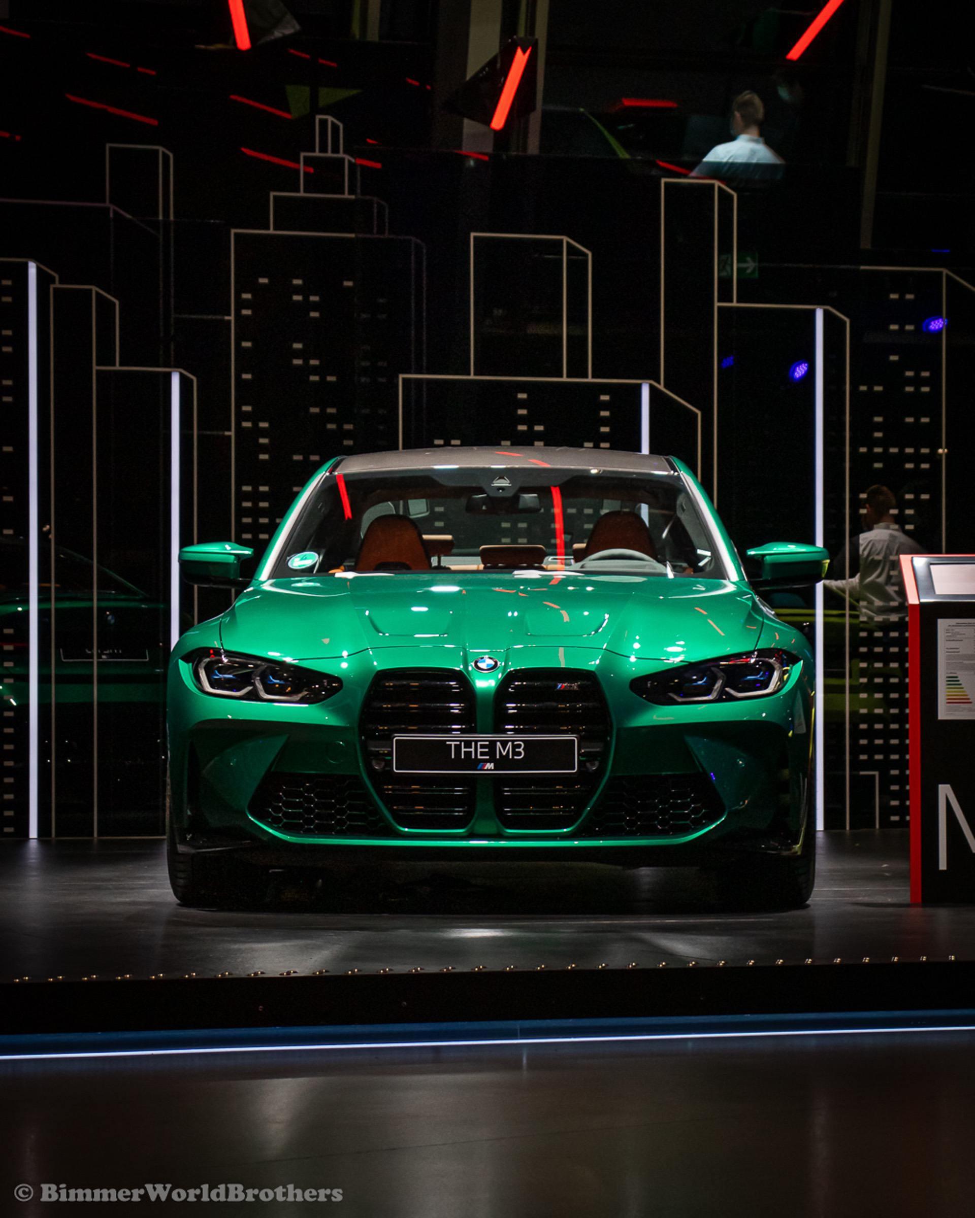 ВИДЕО: Узнайте о шинах на новых BMW M3 и M4