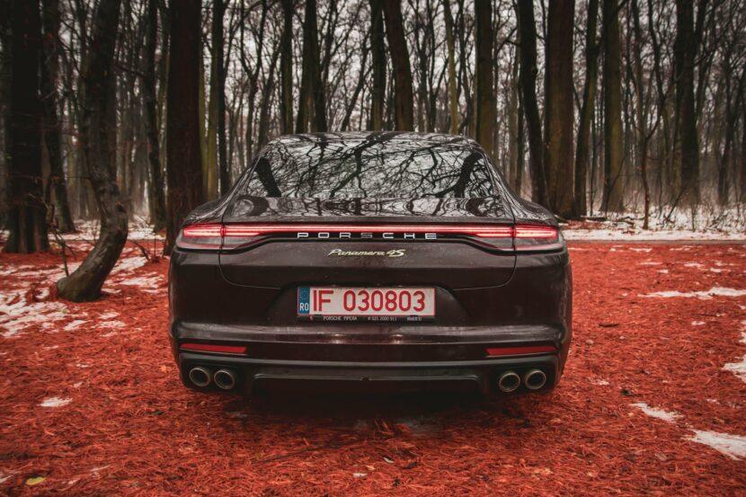 2021 Porsche Panamera 4S E Hybrid test drive 88 830x553