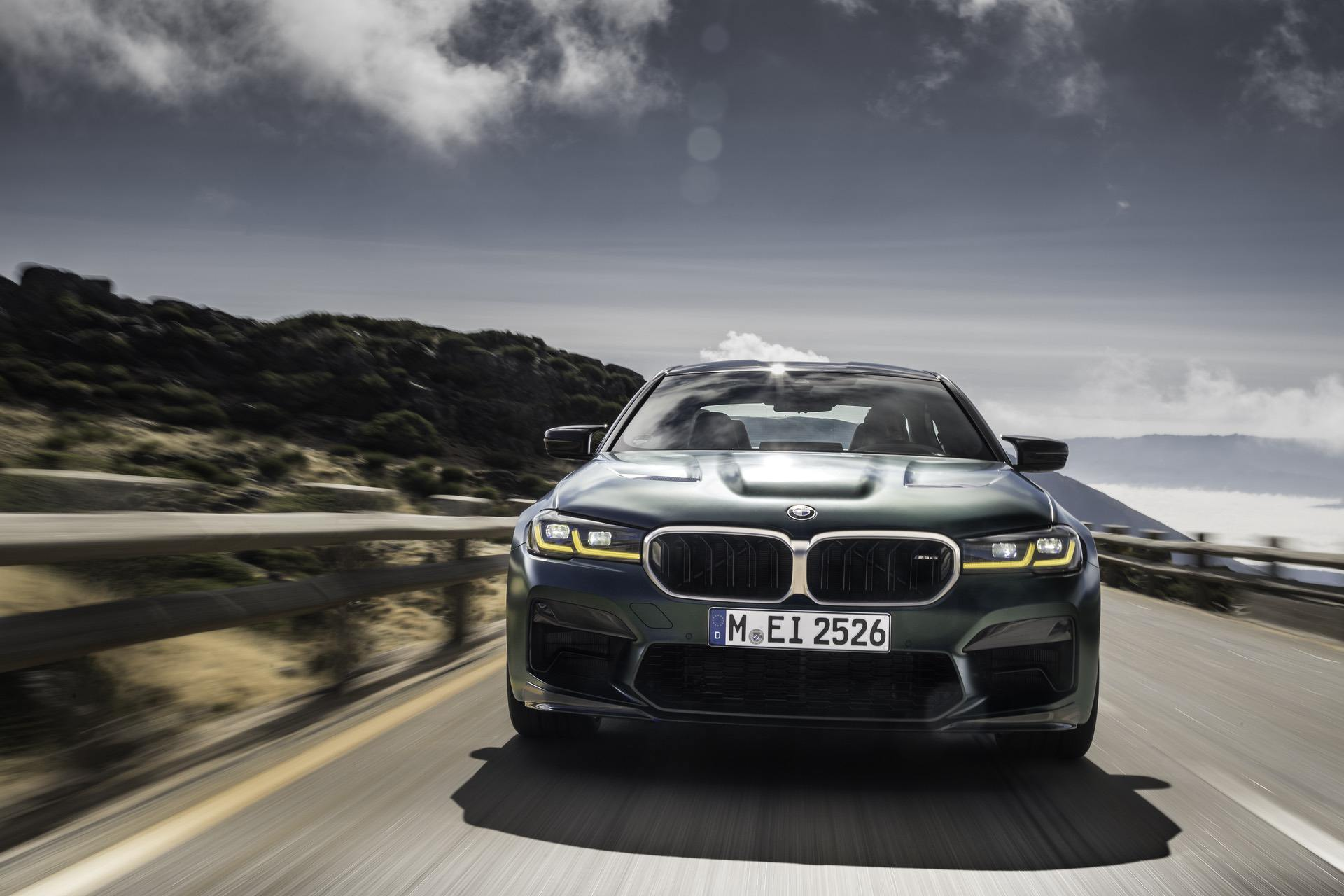 WORLD PREMIERE: The First-Ever BMW M5 CS is Here — Four-Seat Track Car
