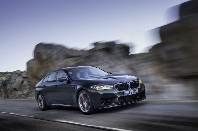 Video: Check out the BMW M5 CS go over 186 mph in Autobahn run