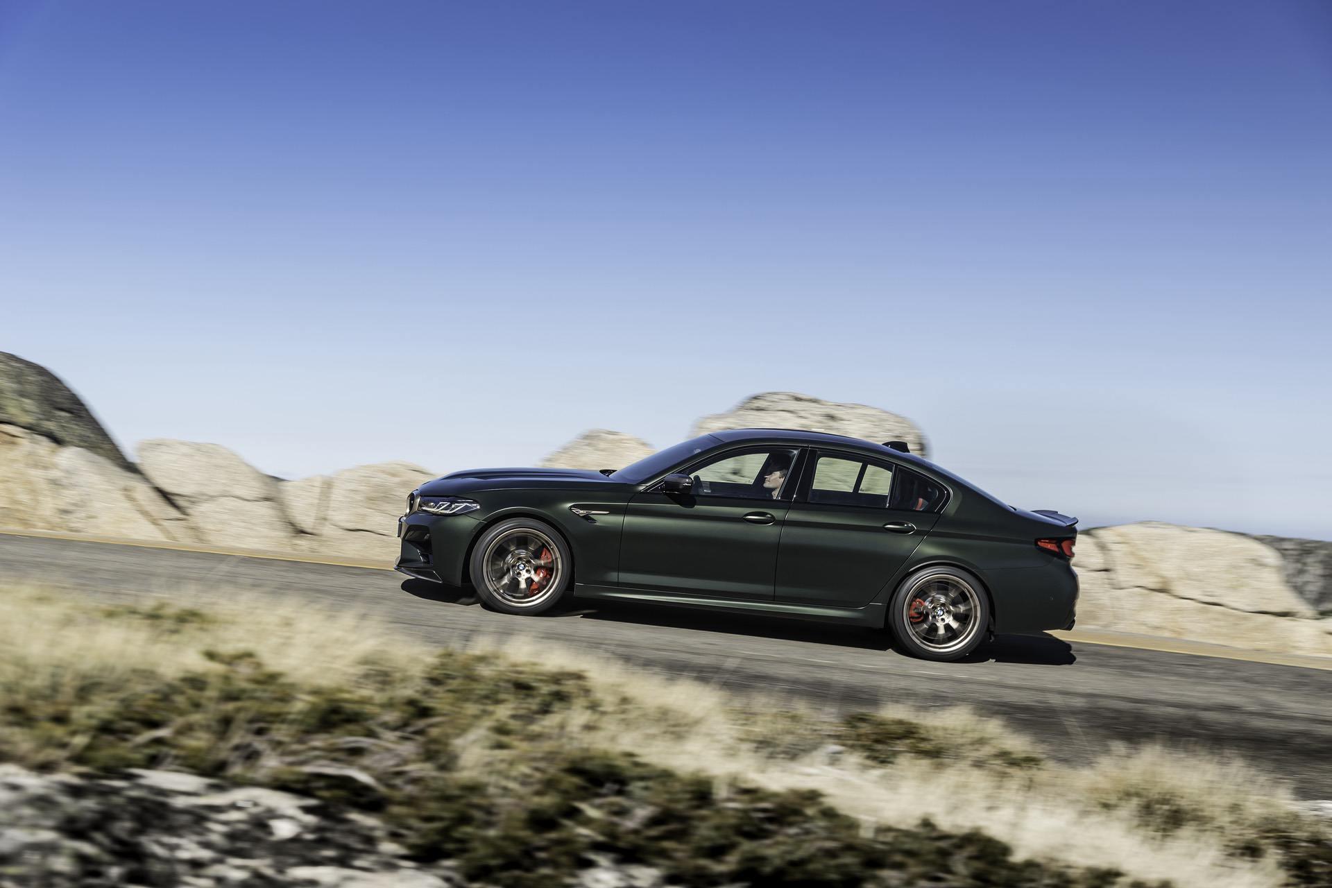 Первый драйв седана BMW M5 CS — ВИДЕО