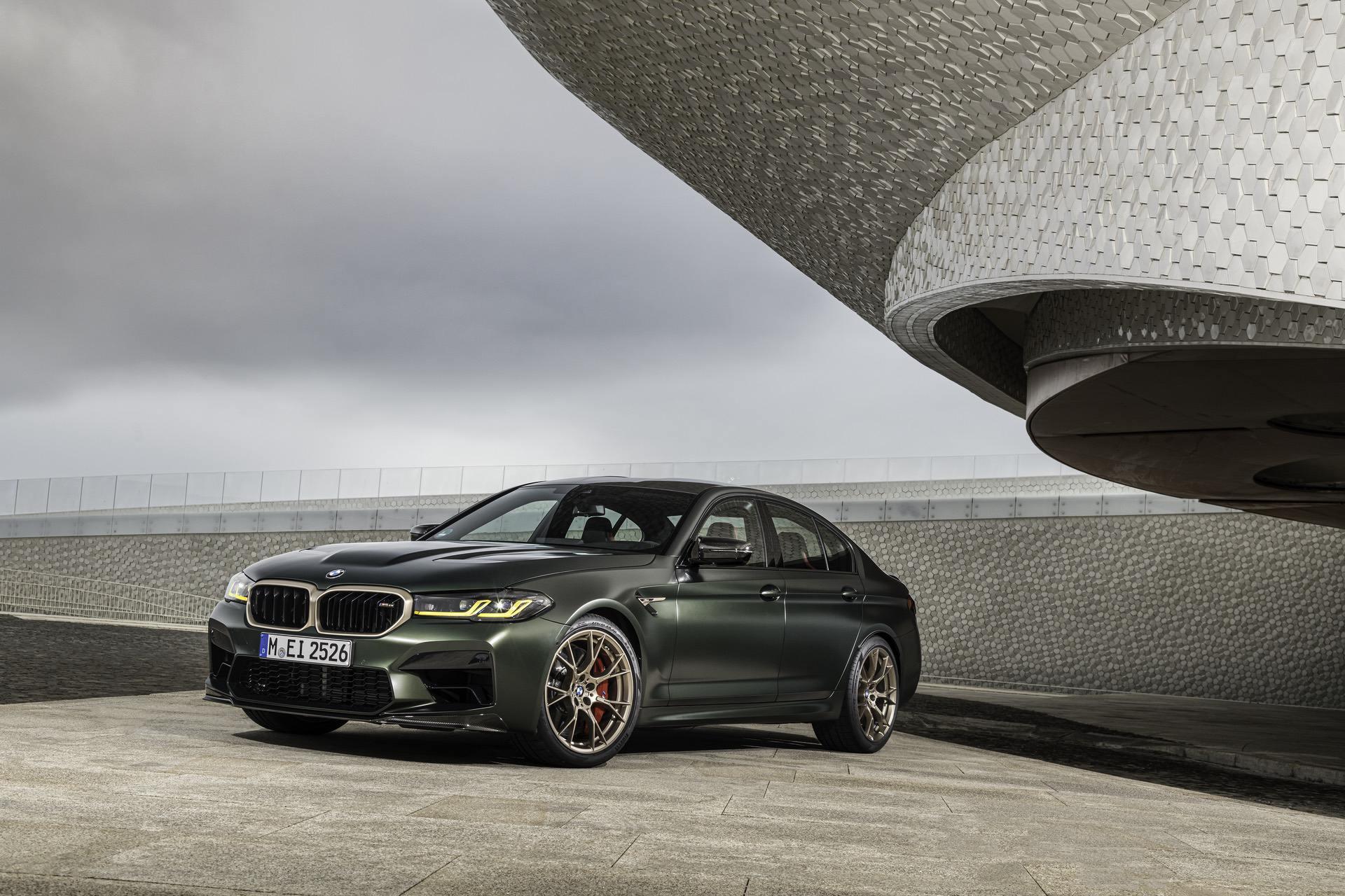 Сравнение стилей: BMW M5 CS против Audi RS7 Sportback