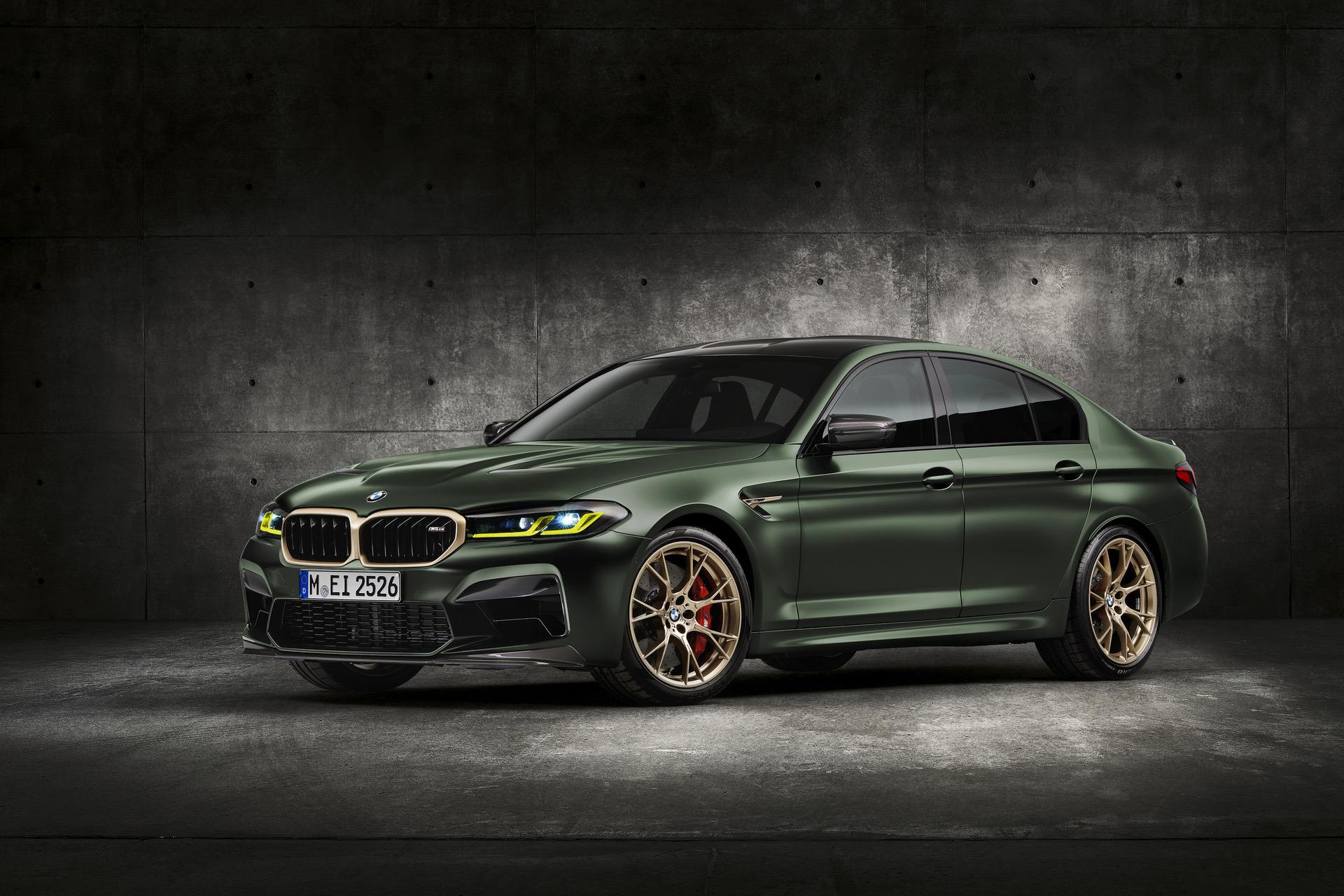 EXCLUSIVE FIRST VIDEO: The 2021 BMW M5 CS