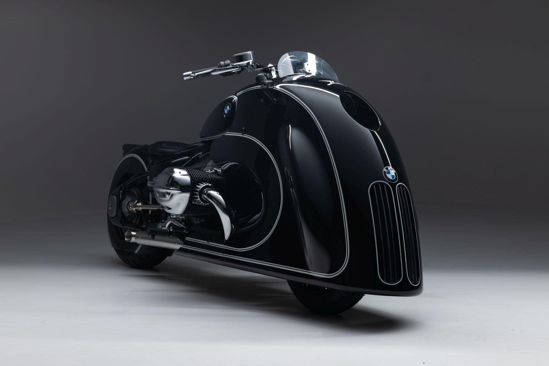BMW Motorrad представляет кастомный байк R 18 в стиле ретро