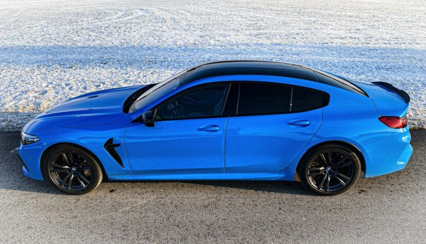 Individual Mexico Blue BMW M8 Gran Coupe Martin Tomczyk 02 830x477