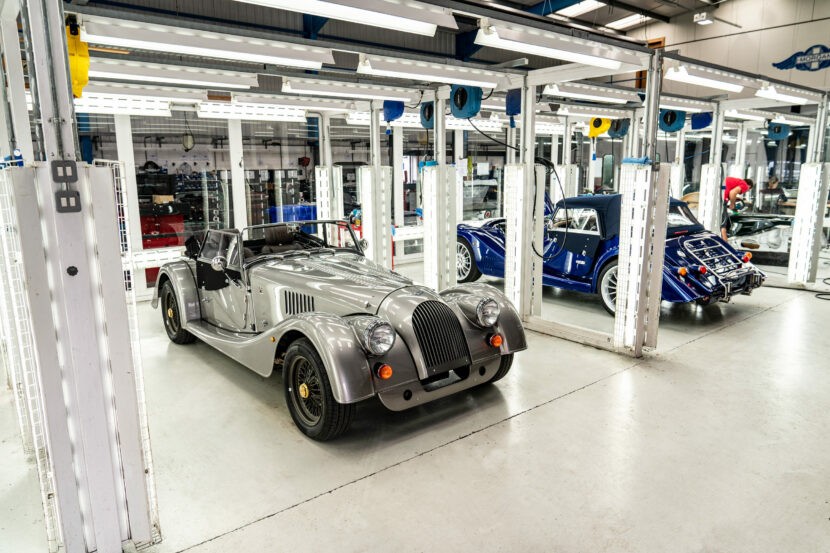 Last steel chassis Morgan Pre Delivery Inspection 830x553