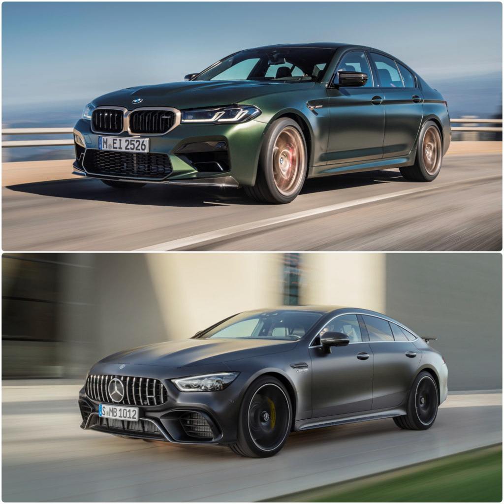 COMPARISON: BMW M5 CS battles with the Mercedes-AMG GT 63 S 4MATIC+