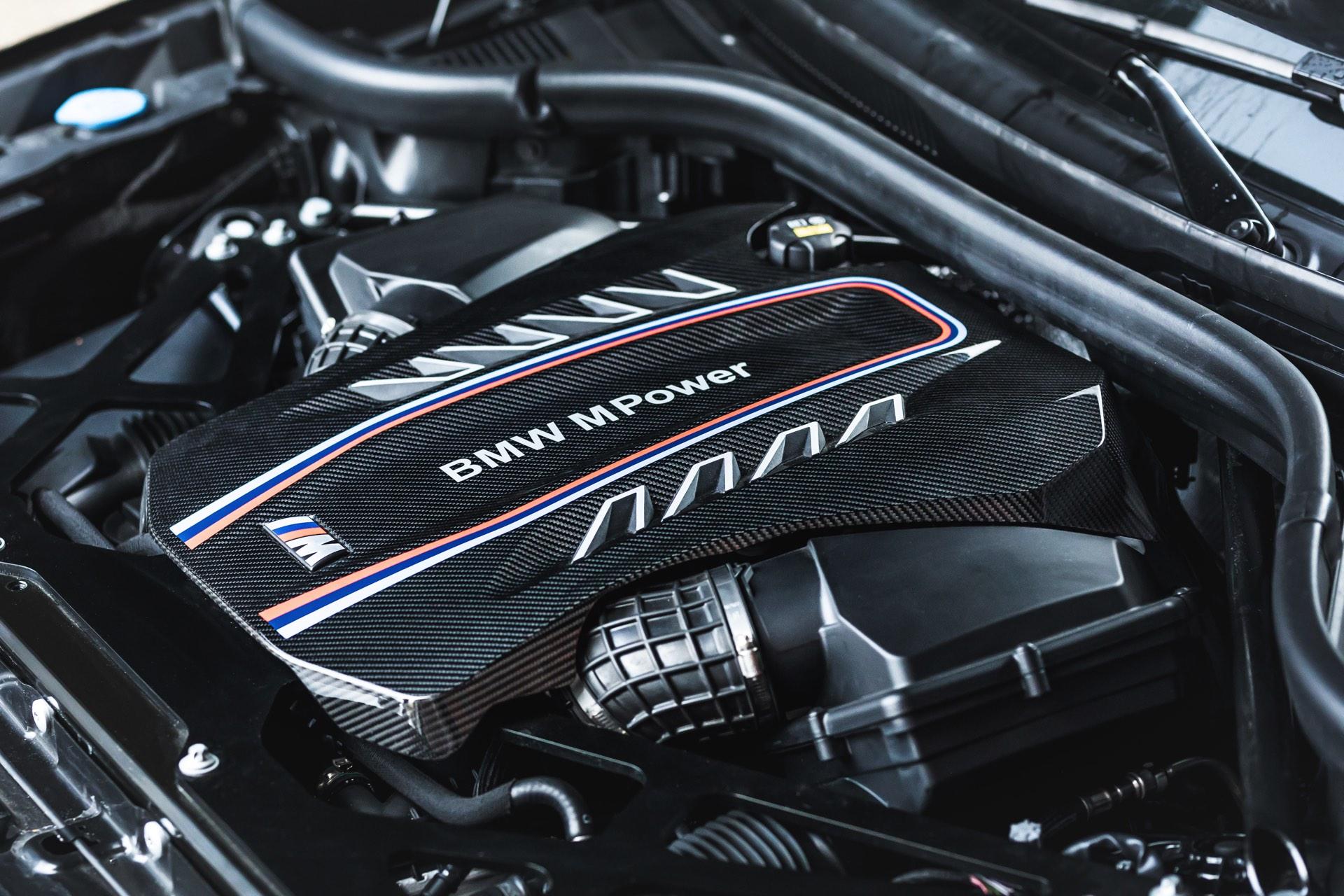 Manhart MHX5 800 BMW X5 M F95 Tuning engine