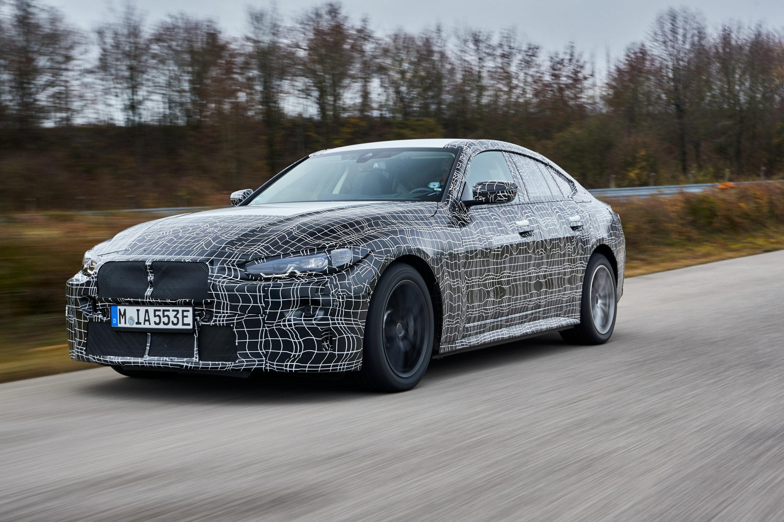 ВИДЕО: Проверьте предстоящий BMW i4 на тестовом цикле