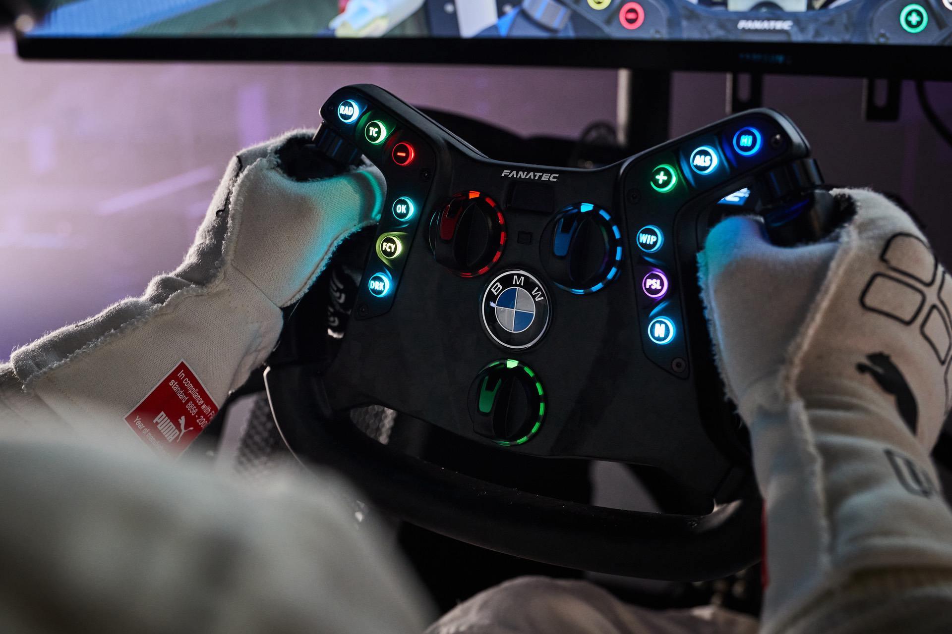bmw m4 gt3 sim live steering