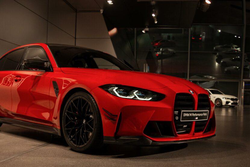 bmw m4 m performance parts toronto red 03 830x553