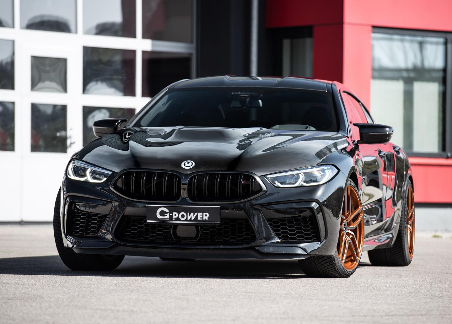 bmw m8 gran coupe tuning g power 1