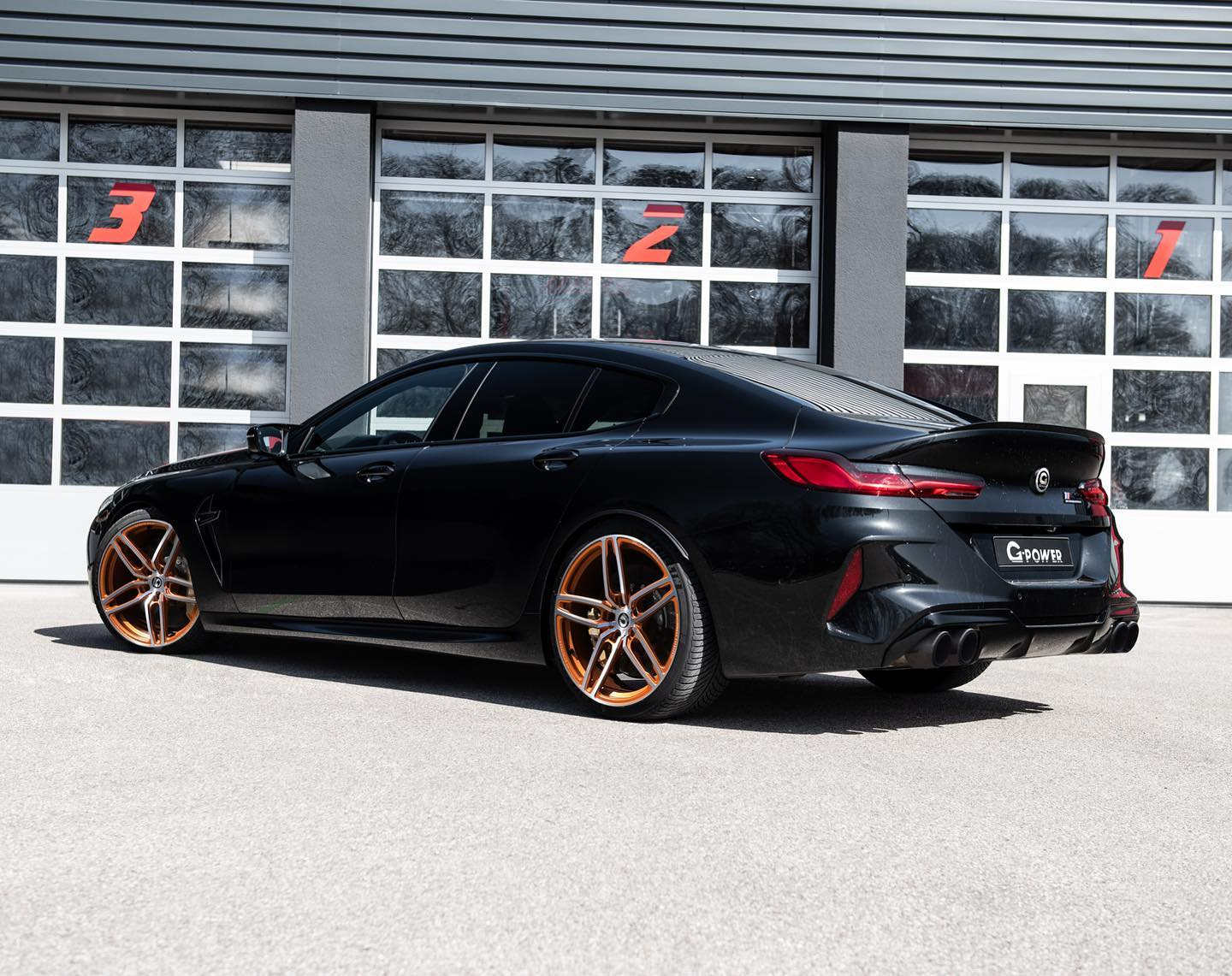 bmw m8 gran coupe tuning g power 3