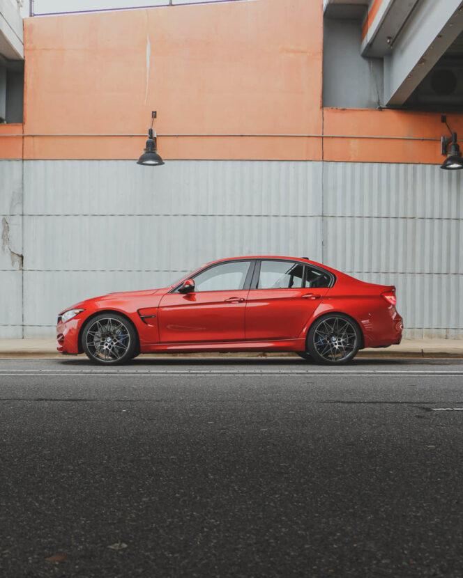 2018 F80 BMW M3 Сахир Оранжевый 7 664x830
