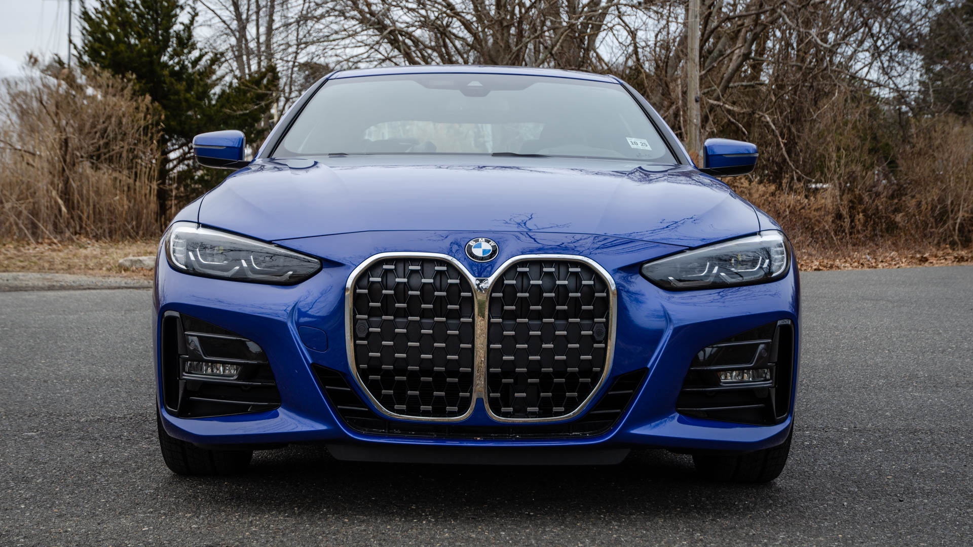 How Much Grille Does the BMW 4 Series Actually Need? Top Gear Found Out
