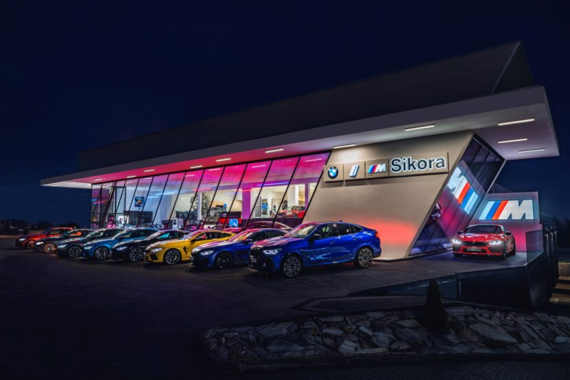 BMW M Sikora showroom in Poland 1 830x553