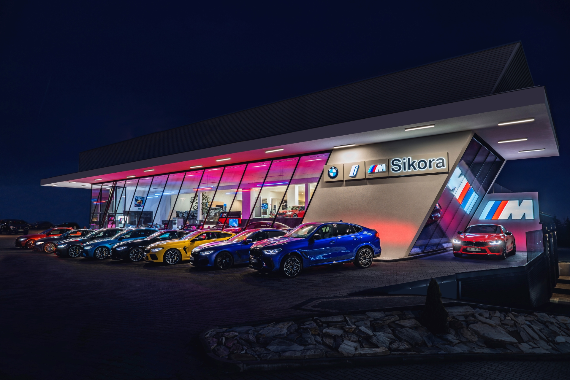 BMW M Sikora showroom in Poland 1