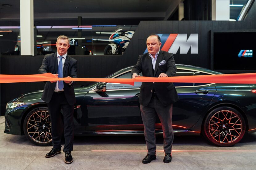 BMW M Sikora showroom in Poland 2 830x553