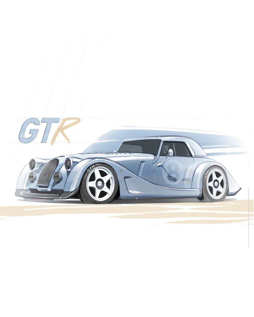 Morgan Plus 8 GTR 3 of 12