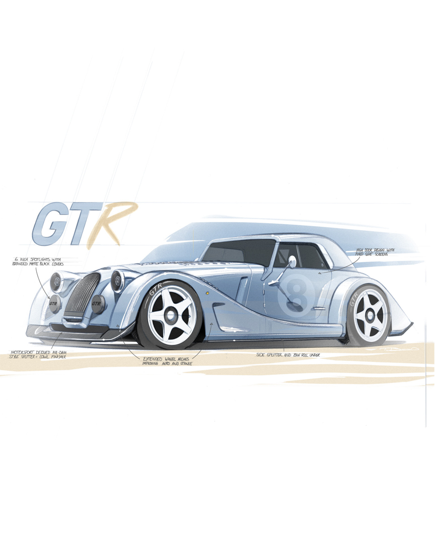 Morgan Plus 8 GTR 4 of 12