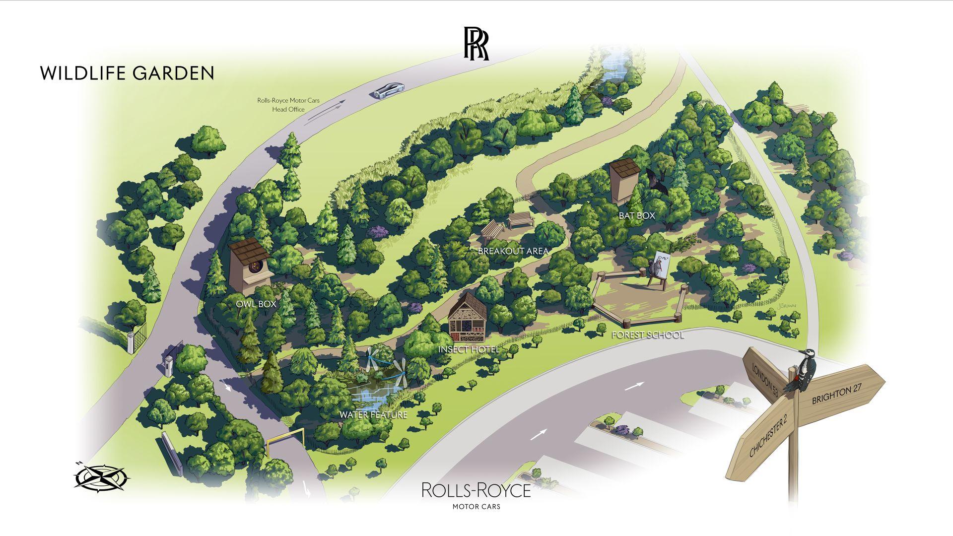 Rolls Royce Goodwood Wildlife garden 10