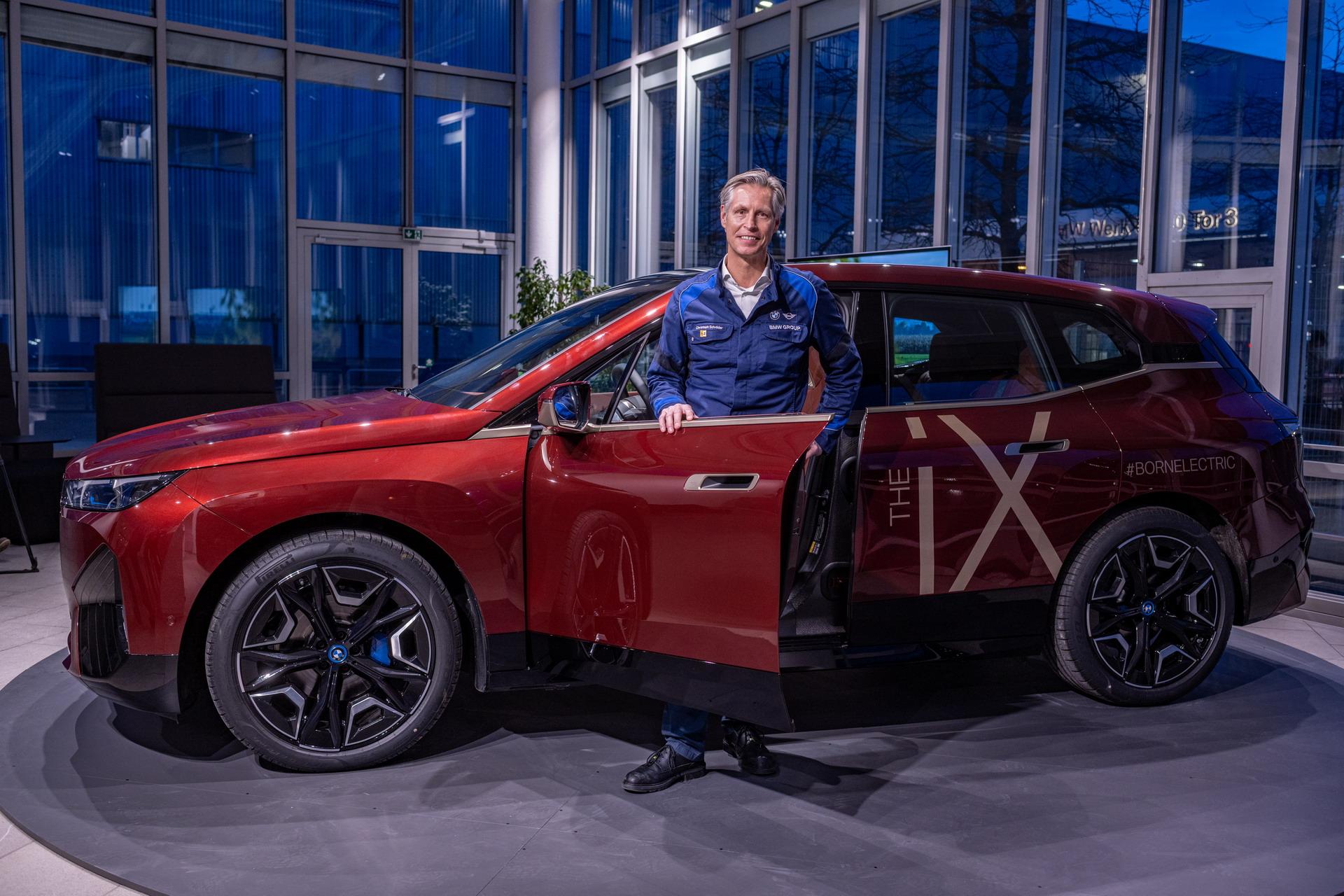 Новый BMW iX: завод в Дингольфинге как новаторский объект Power of Choice