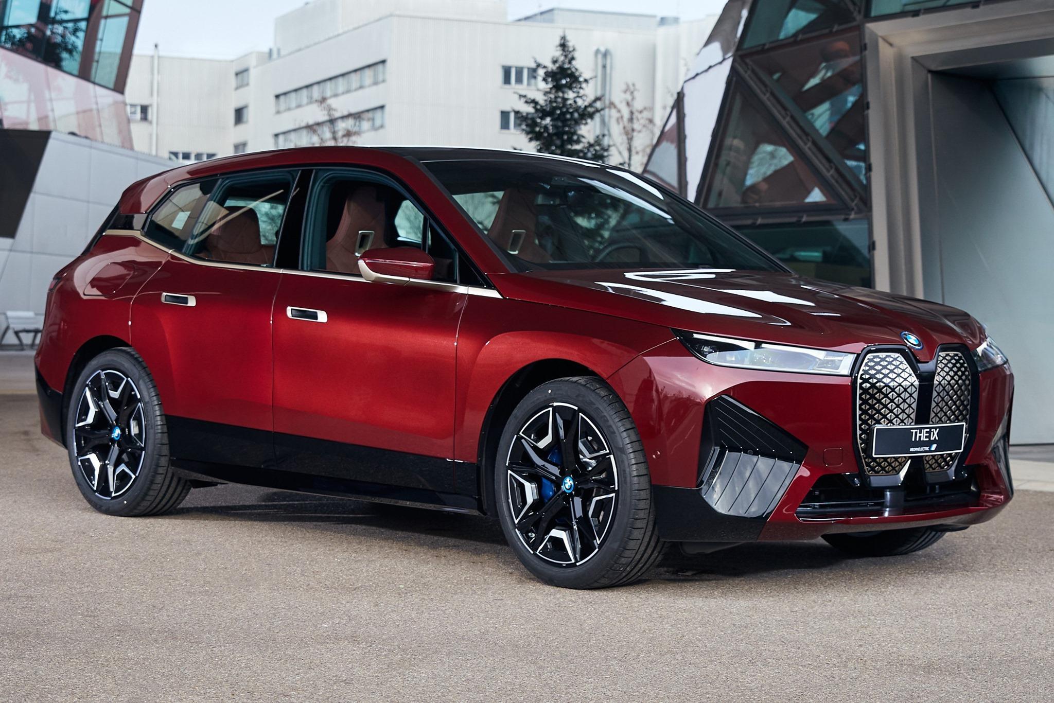 The new BMW iX at BMW Welt 5