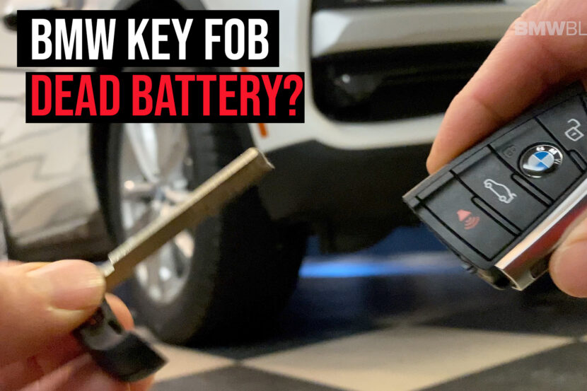 bmw key fob dead battery 830x553
