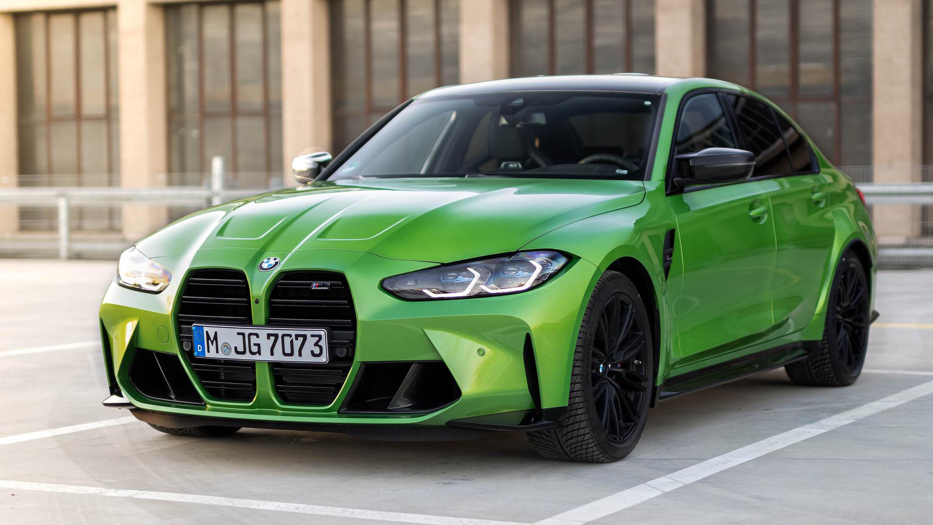 bmw m3 g80 java green