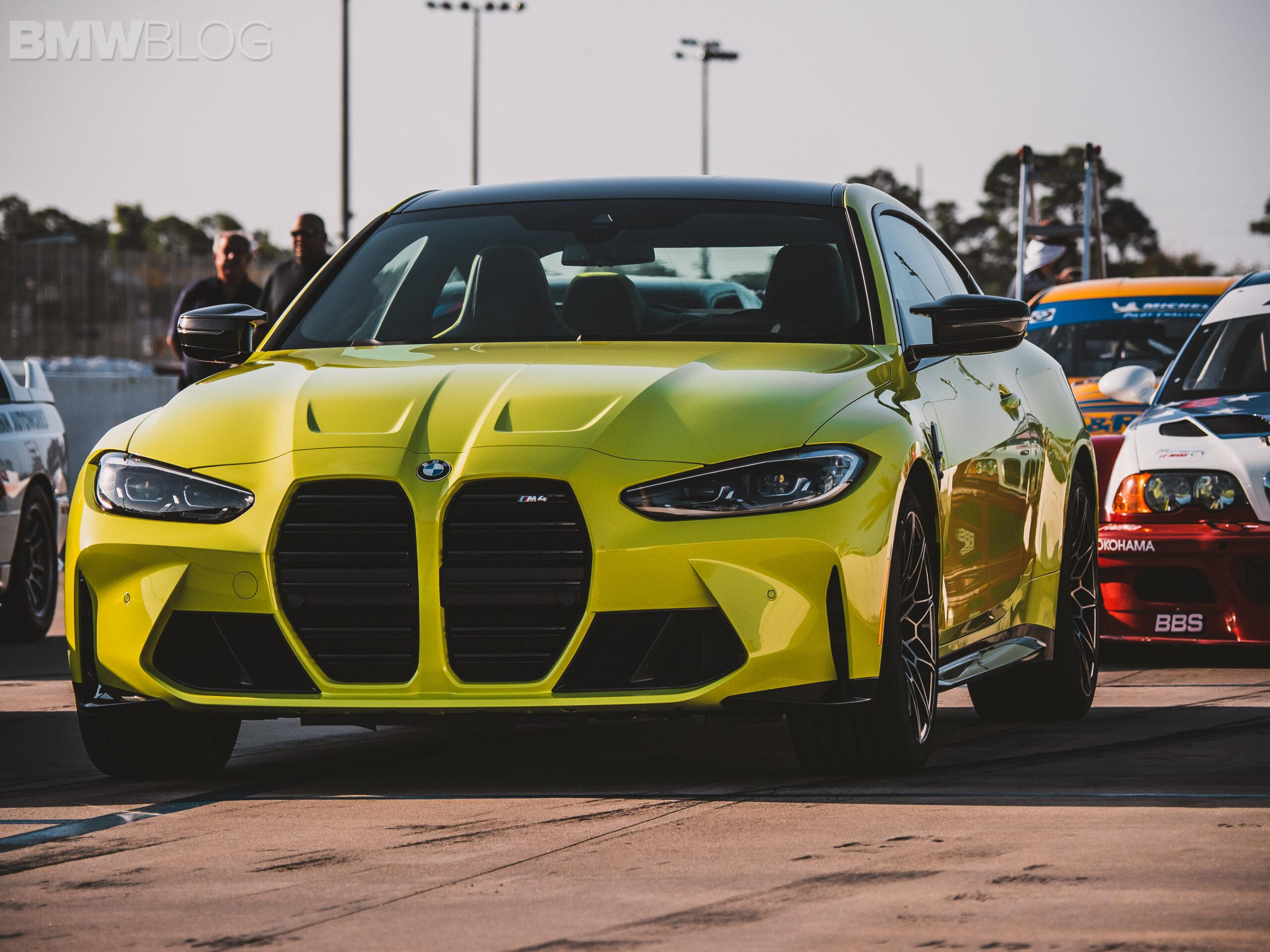 Эксклюзивный взгляд на новые BMW M3 и M4 2021 года на гоночной трассе