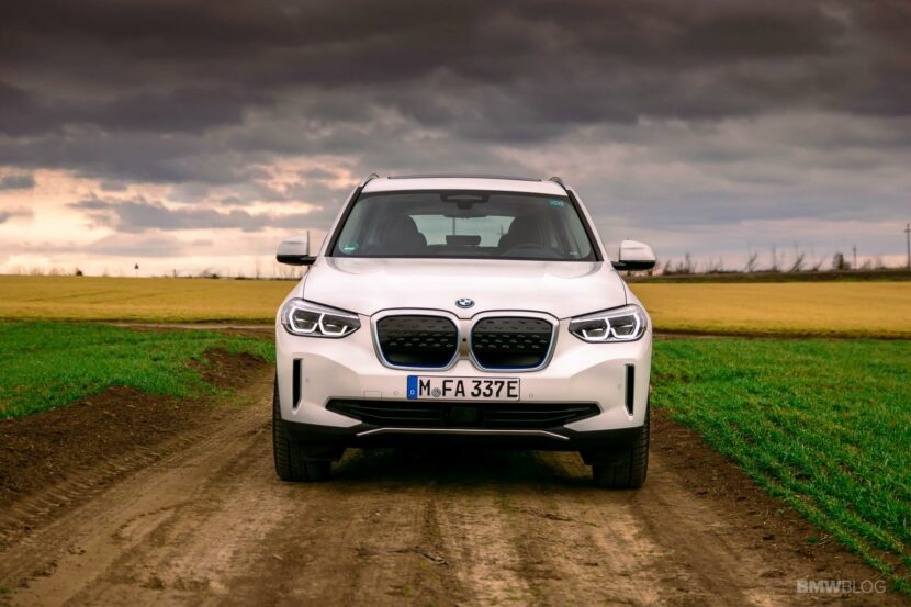 2021 bmw ix3 test Drive 46 830x553