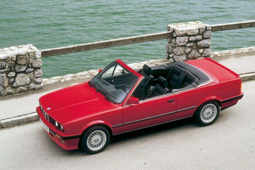 BMW 3 Series Cabriolet E30 766 38 830x553