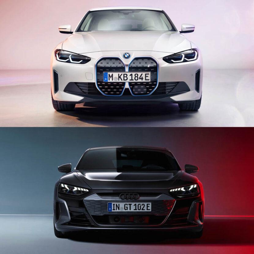 BMW i4 vs Audi e tron GT 3 of 5 830x830
