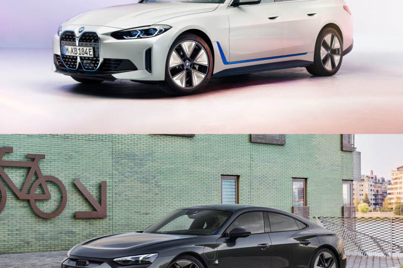 BMW i4 vs Audi e tron GT 5 of 5 830x553