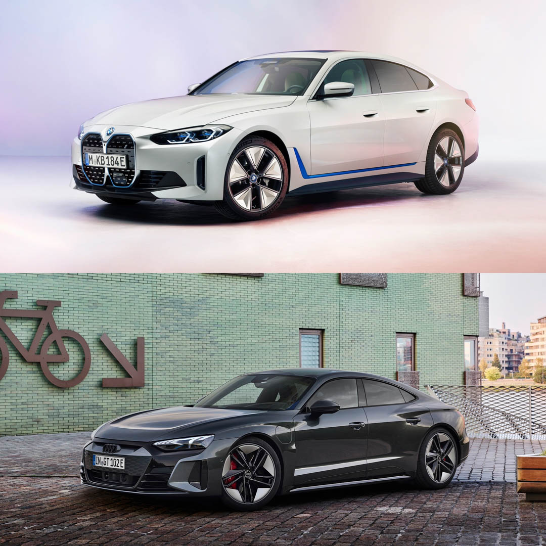 BMW i4 vs Audi e tron GT 5 of 5