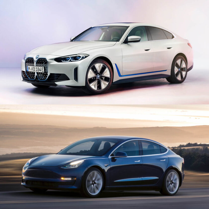 BMW i4 vs Tesla Model 3 1 of 3