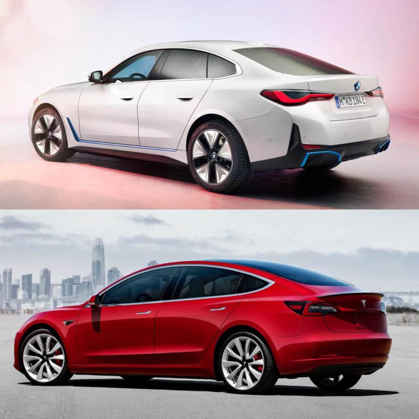 BMW i4 vs Tesla Model 3 3 of 3 830x830