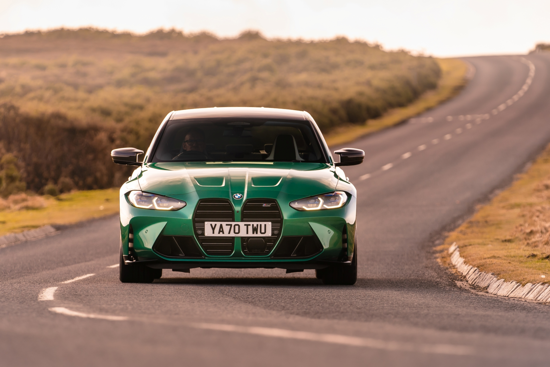 The New BMW M3 Competition Sedan UK 30
