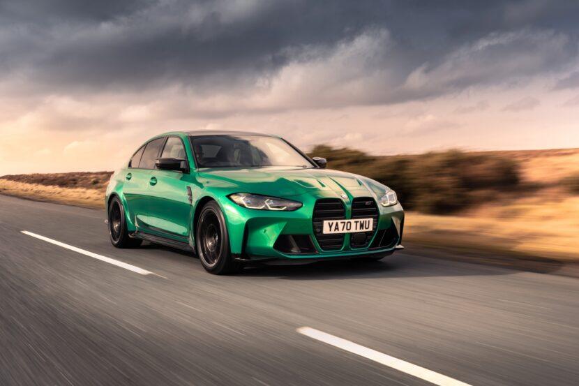 The New BMW M3 Competition Sedan UK 32 830x553