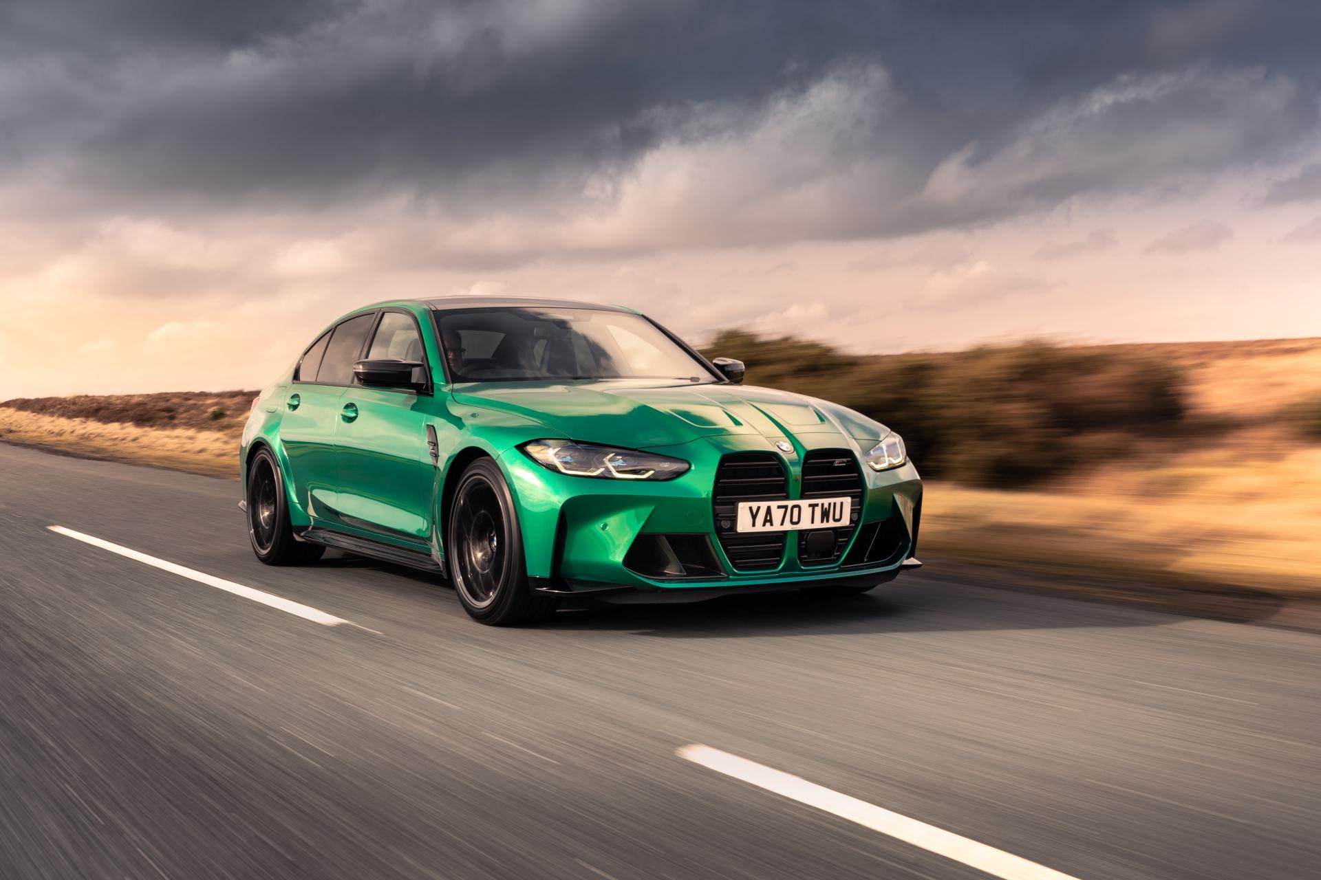 The New BMW M3 Competition Sedan UK 32