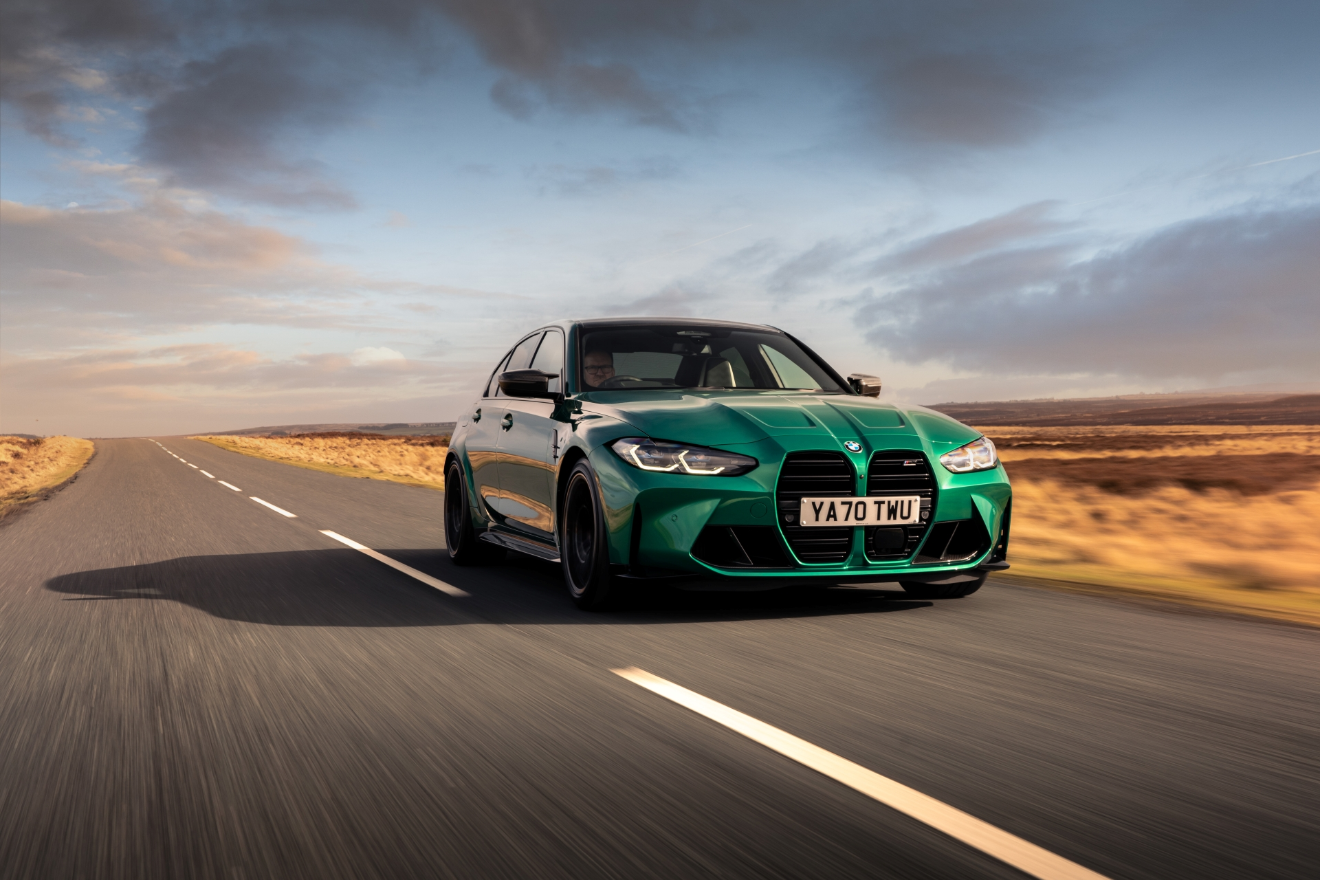 The New BMW M3 Competition Sedan UK 37