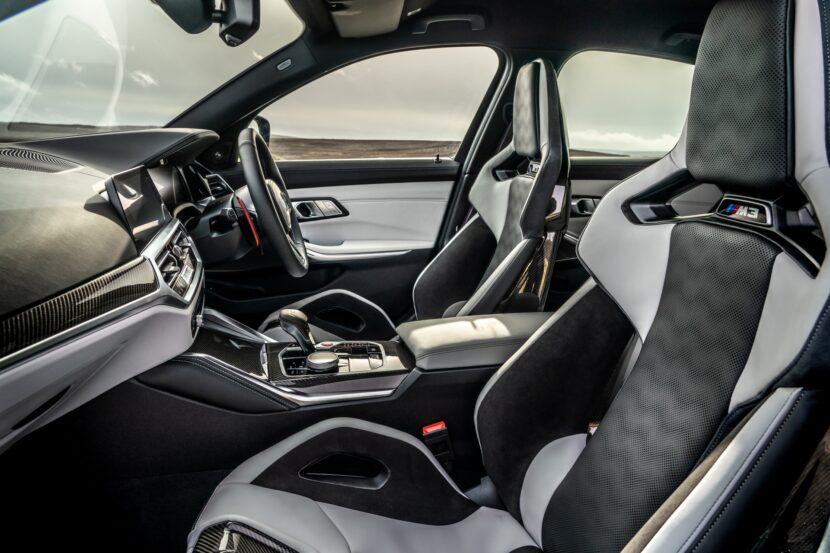 The New BMW M3 Competition Sedan UK 38 830x553