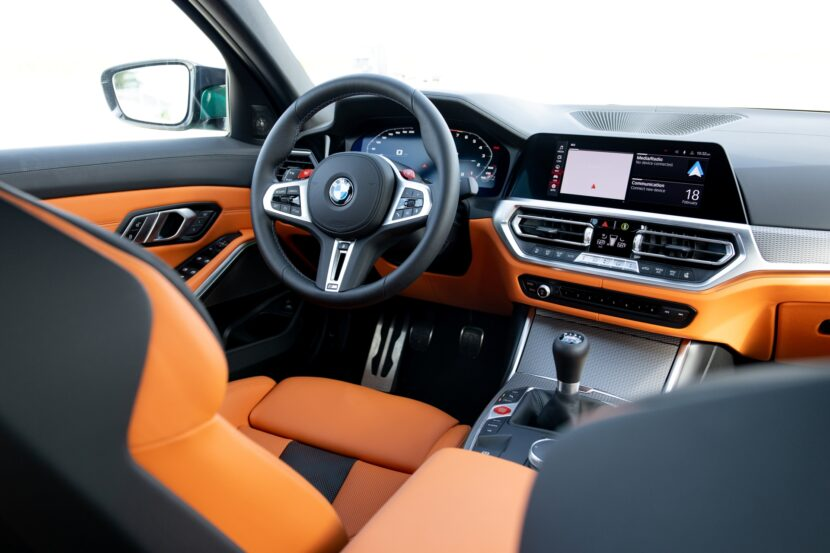 The New BMW M3 Sedan in the US 7 830x553